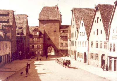 Das Nürnberger Tor um 1900