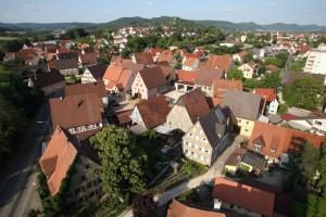 Altensittenbach von oben