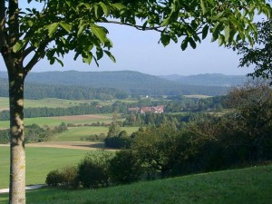 Blick nach Kühnhofen