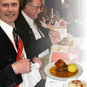 "Enjoyment: Traditional Food ""Schäufele"""