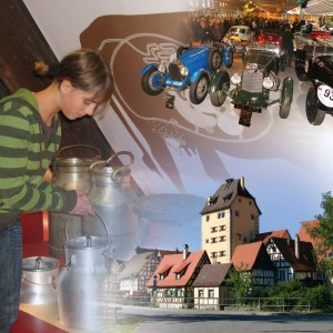 Attractions: Historic Town Centre, Vintage Cars and Motorcycles Collection, German Shepherd Museum
