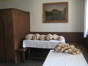 Brotbacken Hirtenmuseum