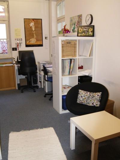Das Büro für Teambesprechungen und Elterngespräche