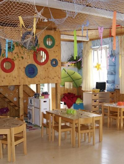 Die Sonnengruppe ist für Kindergartenkinder im Alter von 3 - 6 Jahren