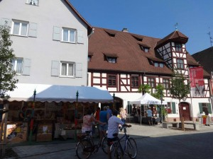Handwerkermarkt Straße Foto Hirtenmuseum