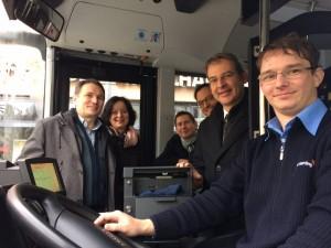 Stadtbus Start neue Busse