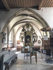 Spitalkirche Innenraum