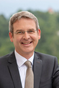 Portrait Erster Buergermeister Robert Ilg, Stadt Hersbruck