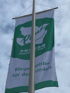 Flagge Mayors for Peace