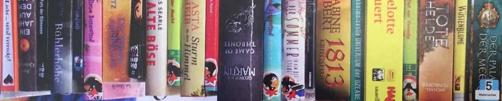 Lesezeichen Bücherei schmal