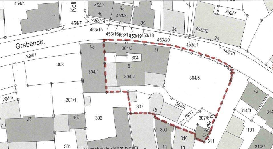 """Bebauungsplanes Nr. 67 """"Blick auf die Stadtmauer"""" im Bereich Grabenstraße/Eisenhüttlein"""