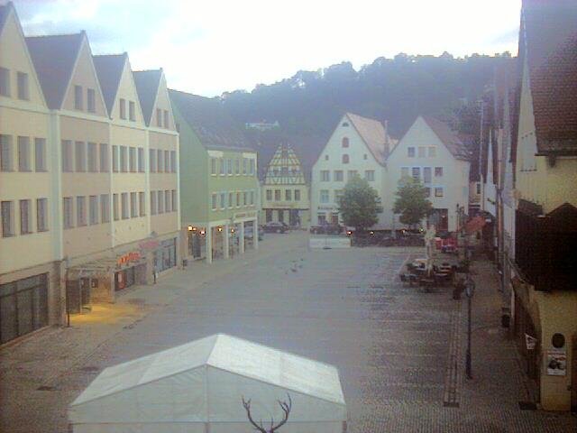 Hersbruck, Marktplatz / Deutschland